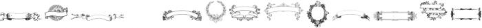 Intellecta Ribbons ttf (400) Font LOWERCASE