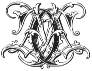 IntellectaMonograms AFVW-CCAA Regular ttf (400) Font OTHER CHARS