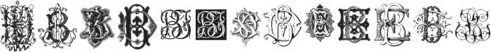 IntellectaMonograms BDBO NewSeries ttf (400) Font LOWERCASE