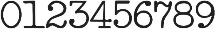 IntellectaTypewriter Regular ttf (400) Font OTHER CHARS