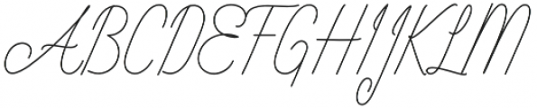 Intelligent Line otf (400) Font UPPERCASE
