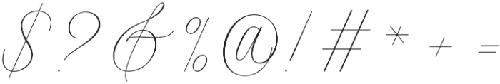 Intelligent otf (400) Font OTHER CHARS