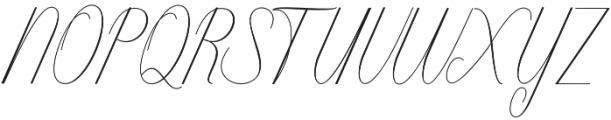 Intelligent otf (400) Font UPPERCASE