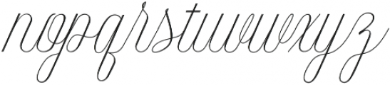 Intelligent otf (400) Font LOWERCASE