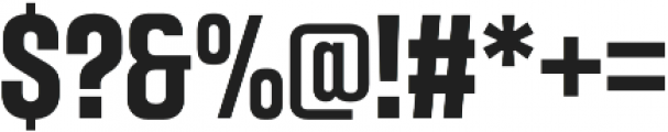 Intensa Bold Condensed otf (700) Font OTHER CHARS