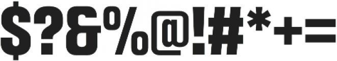 Intensa ExtraBold Condensed otf (700) Font OTHER CHARS