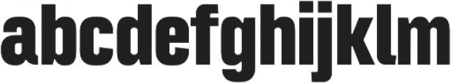 Intensa ExtraBold Condensed otf (700) Font LOWERCASE