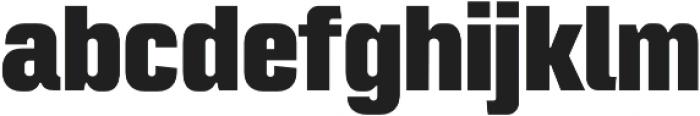Intensa Heavy Condensed otf (800) Font LOWERCASE