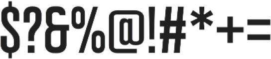 Intensa Regular Condensed otf (400) Font OTHER CHARS