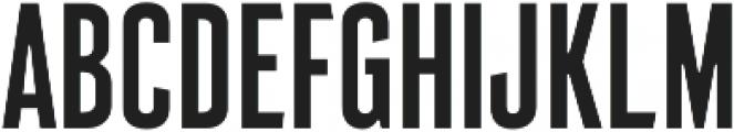 Intensa Regular Condensed otf (400) Font UPPERCASE