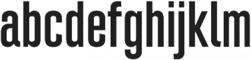 Intensa Regular Condensed otf (400) Font LOWERCASE