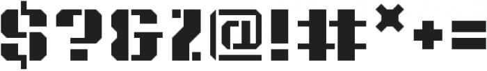 Intermodal A otf (400) Font OTHER CHARS