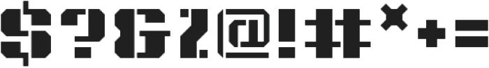Intermodal B otf (400) Font OTHER CHARS