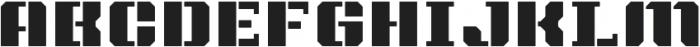 Intermodal B otf (400) Font LOWERCASE