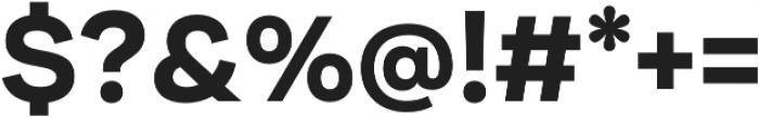 Internacional Alt Bold otf (700) Font OTHER CHARS