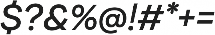 Internacional Alt Regular It otf (400) Font OTHER CHARS