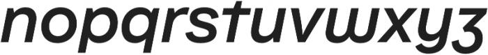 Internacional Alt SemiBold It otf (600) Font LOWERCASE