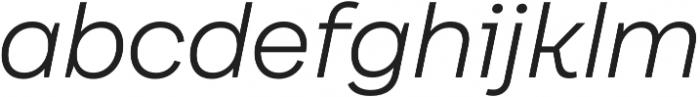 Internacional Alt UltraLight It otf (300) Font LOWERCASE