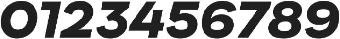 Internacional Black It otf (900) Font OTHER CHARS