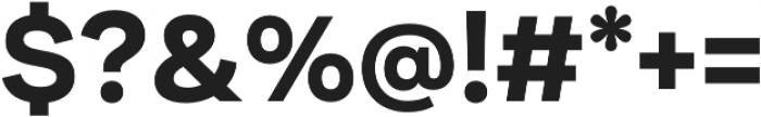Internacional Bold otf (700) Font OTHER CHARS