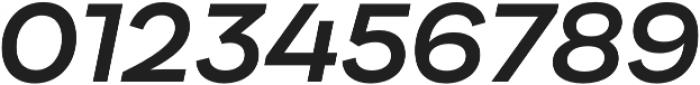Internacional SemiBold It otf (600) Font OTHER CHARS