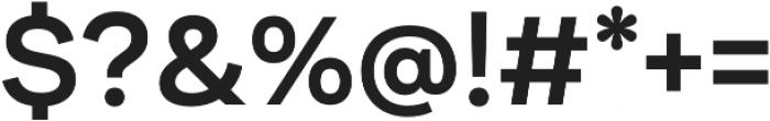 Internacional SemiBold otf (600) Font OTHER CHARS