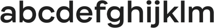 Internacional SemiBold otf (600) Font LOWERCASE