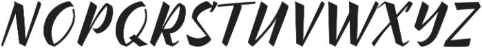 Inters otf (400) Font UPPERCASE