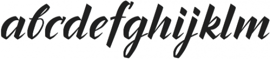 Inters otf (400) Font LOWERCASE