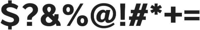 Interval Pro Bold otf (700) Font OTHER CHARS
