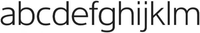 Interval Pro Light otf (300) Font LOWERCASE