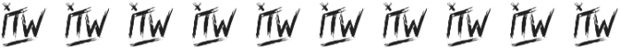 Into the Wild Swash otf (400) Font OTHER CHARS
