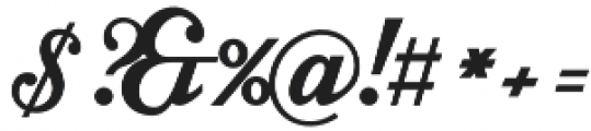 Intrique Script otf (400) Font OTHER CHARS