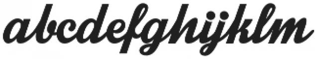 Intrique Script otf (400) Font LOWERCASE