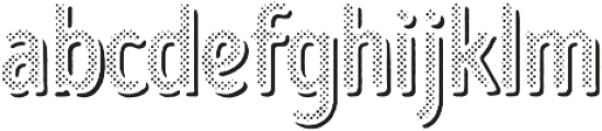 Intro Head B H1 Shade otf (400) Font LOWERCASE