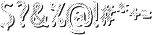 Intro Head B L Shade otf (400) Font OTHER CHARS