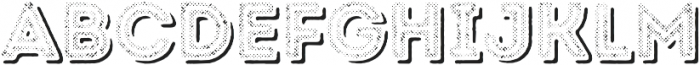 Intro Rust H2 Fill 2 Shade otf (400) Font LOWERCASE