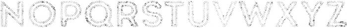 Intro Rust H2 Fill 2 otf (400) Font UPPERCASE