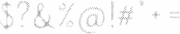 Intro Script B H1 otf (400) Font OTHER CHARS