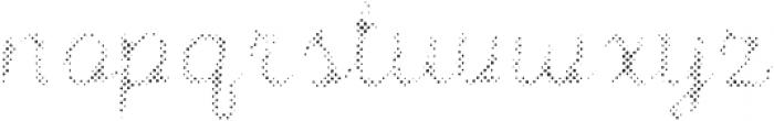 Intro Script B H1 otf (400) Font LOWERCASE