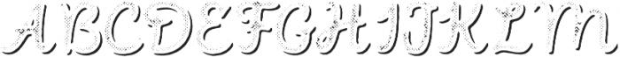 Intro Script B H2 Shade otf (400) Font UPPERCASE