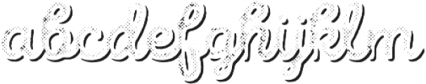Intro Script B H2 Shade otf (400) Font LOWERCASE