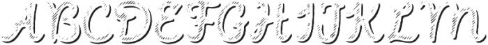 Intro Script B L Shade otf (400) Font UPPERCASE