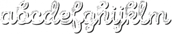 Intro Script B L Shade otf (400) Font LOWERCASE