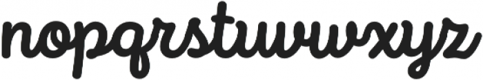 Intro Script Bold otf (700) Font LOWERCASE