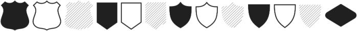 Intro Script Goodies Patterns otf (400) Font UPPERCASE