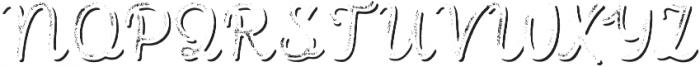 Intro Script R G Shade otf (400) Font UPPERCASE