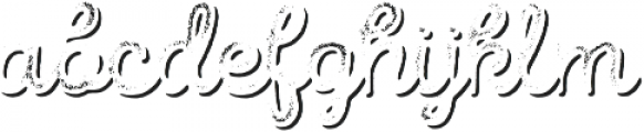 Intro Script R G Shade otf (400) Font LOWERCASE