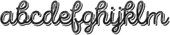 Intro Script R L Base Shade otf (400) Font LOWERCASE
