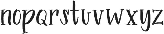 Introduction Regular otf (400) Font LOWERCASE